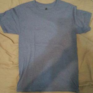 Hanes blue tshirt mens small